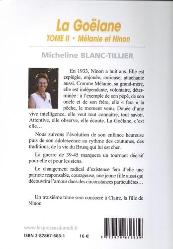 La Goëlane Tome 2 Mélanie et Ninon