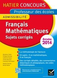 Michel Mante - Annales 2015 - Concours professeur des écoles - Sujets corrigés français et mathématiques.