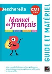 Micheline Cellier et Maud Morel - Manuel de français CM1 Bescherelle - Guide pédagogique.