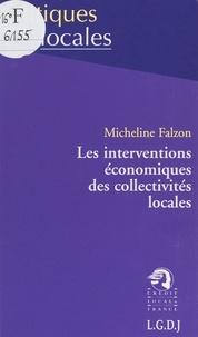 Micheline Falzon - Les interventions économiques des collectivités locales.