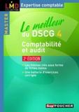 Micheline Friédérich et Georges Langlois - Le meilleur du DSCG 4 comptabilité et audit.