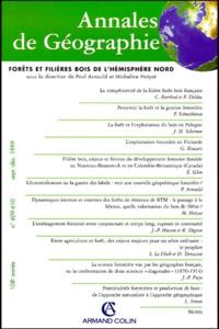 ANNALES DE GEOGRAPHIE N° 609-610 SEPT/DEC 1999 : FORETS ET FILIERES BOIS DE LHEMISPHERE NORD.pdf
