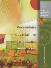 Galabria.be Vocabulaire des relations professionnelles français-anglais Image
