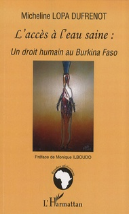 Galabria.be L'accès à l'eau saine : un droit humain au Burkina Faso Image