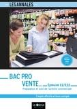 Michelle Barret - Préparation et suivi de l'activité commerciale épreuve E2 sous-épreuve E22 Bac pro Vente - 5 sujets officiels et leurs corrigés.