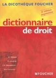Michelle Fontaine et R Cavalerie - Dictionnaire de droit.