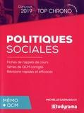 Michelle Gagnadoux - Politiques sociales - Mémo + QCM.