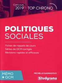 Téléchargement de livres audio pour ipad Politiques sociales  - Mémo + QCM par Michelle Gagnadoux ePub (Litterature Francaise)