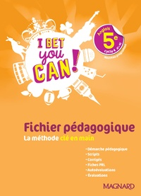 Openwetlab.it Anglais 5e cycle 4 A1>A2 I bet you can! - Fichier pédagogique Image