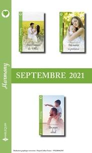 Michelle Major et Helen Lacey - Pack mensuel Harmony : 3 romans (Septembre 2021).