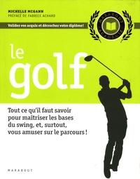 Michelle McGann - Le golf.