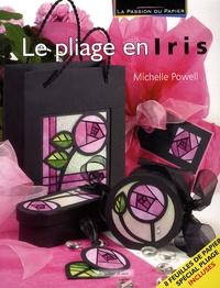 Michelle Powell - Le pliage en iris.