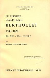 Le chimiste Claude-Louis Berthollet (1748-1822) - Sa vie, son œuvre.pdf