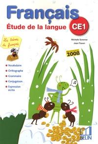 Michelle Sommer et Jean Flaven - Français CE1 - Etude de la langue.