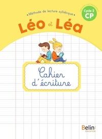 Michelle Sommer et Ghislaine Blondet - Léo et Léa CP - Cahier d'écriture.