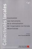 Mickaël Baubonne - Les instruments de rationalisation de l'organisation territoriale décentralisée.