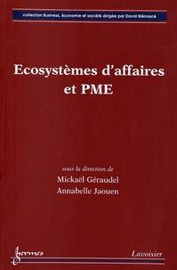 Mickaël Géraudel et Annabelle Jaouen - Ecosystèmes d'affaires et PME.