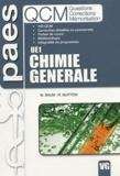 Mickaël Shum et Romain Guitton - Chimie générale UE1 : questions, corrections, mémorisation.