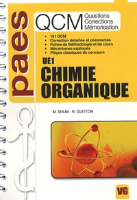Mickaël Shum et Romain Guitton - QCM UE1 Chimie organique.