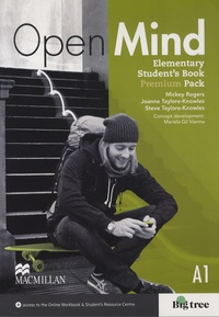Mickey Rogers - Open Mind - Elementary Student's Book Premium Pack A1.