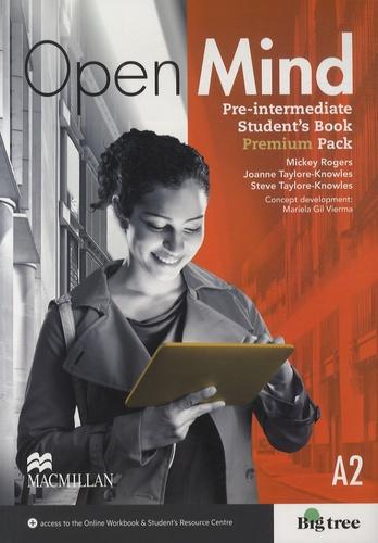 Mickey Rogers - Open Mind - Pre-intermediate Student's Book Premium Pack, A2.