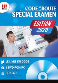 Micro Application - Code de la route spécial examen. 1 DVD