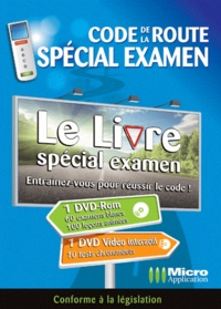 Micro Application - Code de la route - Spécial examen, permis B. 2 DVD