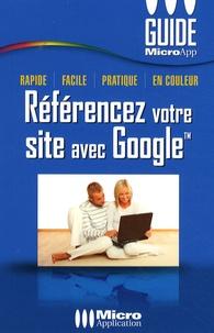 Micro Application - Référencez votre site avec Google.