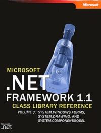 Microsoft - Net Framework 1.1 - Volume 7 en 2 volumes.