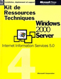 Windows 2000 Server. Internet Information Services 5.0 -  Microsoft |