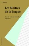 Mign et  Roubinesco - Les Maîtres de la langue - Avec des textes de Marr, Staline, Polivanov.