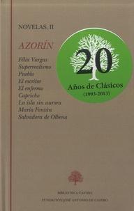 Miguel Angel Lozano Marco - Novelas, II (1928-1944) - Azorin.