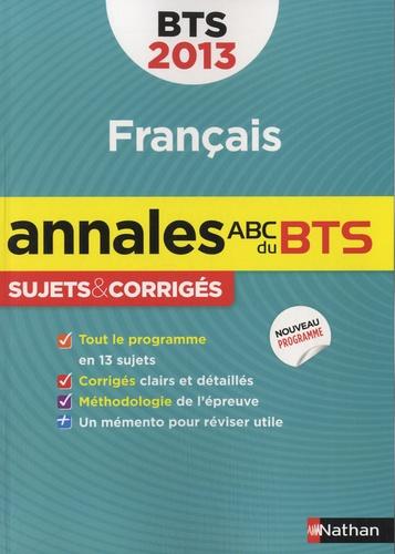 Francais Bts Sujets Corriges