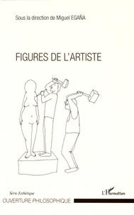 Miguel Egaña - Figures de l'artiste.