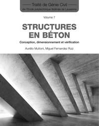 Miguel Fernandez-ruiz et Aurelio Muttoni - Structures en béton - Conception, dimensionnement et vérification.