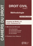 Mikaël Benillouche - Droit civil - Tome 1, Méthodologie.