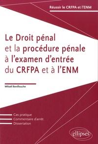 Mikaël Benillouche - Le droit pénal et la procédure pénale à l'examen d'entrée du CRFPA et à l'ENM.