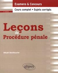 Mikaël Benillouche - Leçons de procédure pénale.
