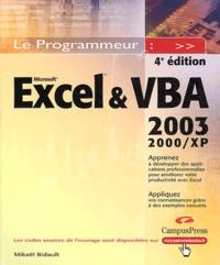 Excel et VBA 2003 - 2000 XP.pdf