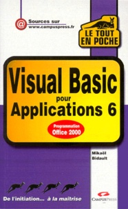 Icar2018.it Visual BASIC pour applications 6 Image