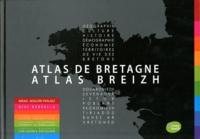 Mikael Bodlore-Penlaez - Atlas de Bretagne - Editions français/breton.