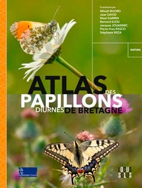 Mikaël Buord et Jean David - Atlas des papillons diurnes de Bretagne.