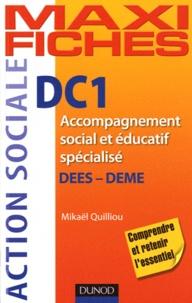 Mikaël Quilliou-Rioual - DC1 accompagnement social et éducatif spécialisé - DEES - DEME.