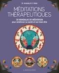 Mike Annesley et Steve Novel - Méditations thérapeutiques - 30 mandalas de méditation pour améliorer sa santé et son bien-être.