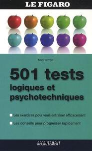 Mike Bryon - 501 tests logiques et psychotechniques.