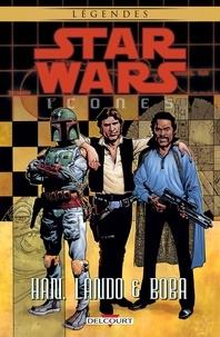 Mike Kennedy et Ian Edington - Star Wars icones Tome 5 : Han, Lando & Boba.