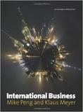 Mike W. Peng et Klaus E. Meyer - International Business.