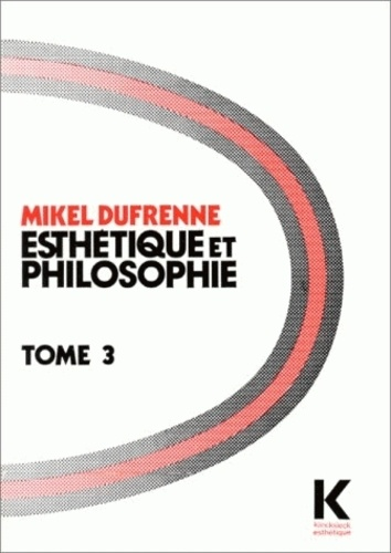 Mikel Dufrenne - .