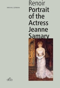 Mikhail German - Renoir - Portrait of the Actress Jeanne Samary.