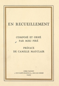 Miki Piré et Camille Mauclair - En recueillement.